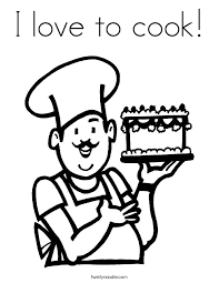 Small Picture Coloring Page Cooking Coloring Pages Coloring Page and Coloring