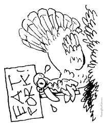Small Picture Funny Turkey Thanksgiving Coloring Pages 016