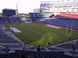 Gillette Stadium View From Mezzanine 224 Vivid Seats