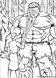 Small Picture Hulk coloring pages on Coloring Bookinfo