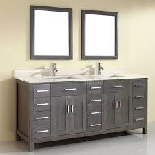 Yellow Bathroom Sink Gray Double Sink Bathroom Vanity