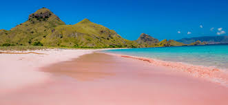 Image result for Map route Kalong island and pink beach
