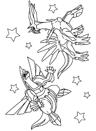 Small Picture Pokemon diamond pearl Coloring Pages
