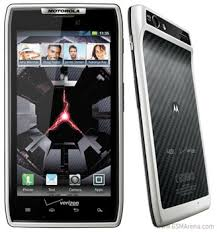 motorola verizon. besides the color of frame, nothing has really changed in smartphone hardware. it features same 4.3-inch super amoled advanced screen, motorola verizon o