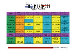 Timetable Creator Revision Timetables And Planning Bbc Bitesize