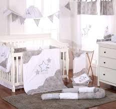 baby nursery bedding sets grey little star 4 crib bedding set baby boy nursery bedding sets