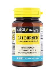 Shop Mason Natural <b>Fat Burner Plus Super</b> City Max Dietary ...
