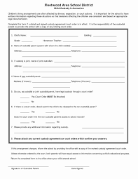child visitation agreement form 36 child visitation agreement template sample parenting plan form
