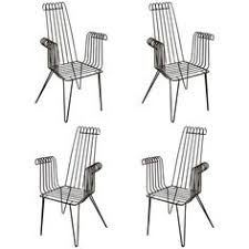 wrought iron indoor furniture. 4 iron chairs for indoor and outdoor wrought furniture d