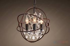 restoration hardware chandelier люстра потолочная new foucault orb crystal