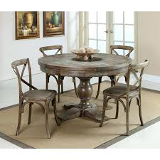 round distressed dining table wood rustic uk
