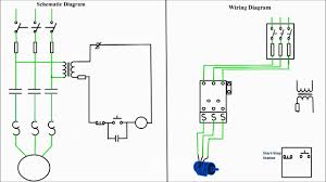 motor starter wiring diagram start stop motor wiring diagrams online motor starter diagram start stop 3 wire control starting a three