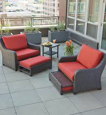 oversized wicker patio chairs. oversized patio chairs for best of hampton bay sauntera 5 piece wicker seating set with