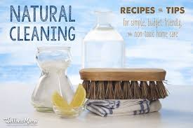 natural cleaning recipes and tips