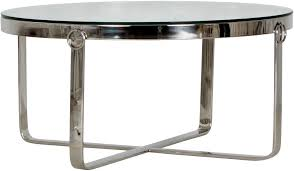 aula round stainless steel chrome and