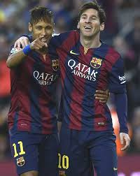 Goals Bt Ween Messi And Neymar Jr La Liga Messi Suarez Neymar lead Barca rout of Getafe win 2424 10 115616