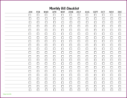 Monthly Bill Organizer Template Luxury Free Printable Bill Payment