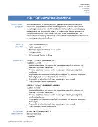 Keywords For Flight Attendant Resume Flight Attendant Resume