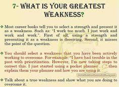 what is your weakness interview question tell me about yourself the right answer job interviews life