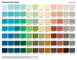 Pantone Color Selection Chart Page 13 Color Selection Char