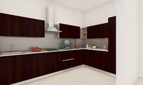 modern sleek l shaped kitchen source livspace com