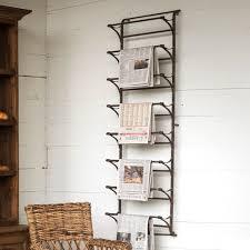 huge metal wall display rack