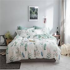 100 cotton bed sheet set quilt duvet cover twin queen size bedding set for children girls women bed set bed cover bedclothes nz 2019 from bluesky11