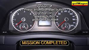 2014 Vw Transporter Inspection Light Reset Vw T5 Multivan Transporter Service Light Reset