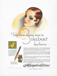 13 maybelline ads from 1920 to now showing the amazing history of beauty