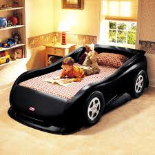 Race car bedroom furniture Themed Bedroom Departments Walmart Little Tikes Sports Car Twin Bed Black Walmartcom