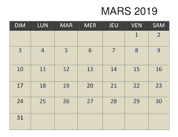 calendrier excell calendrier 2019 mars excel best reviews 2019