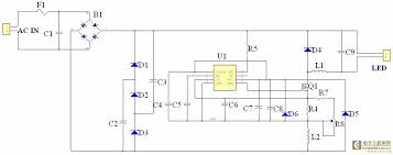 constant current driven acirc dave ross blog the basic operating principle is when the gas switching tube is turned on the main current circuit is ac in f1 b1 led l1 q1 r4 l2 b1 acin in