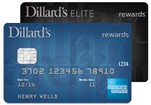 dillard s credit card from wells fargo