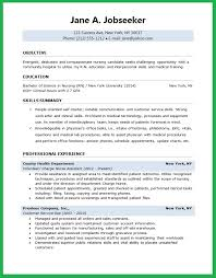 Resume Templates For Nurses Amazing Nursing Student Resume Template 48 Techtrontechnologies