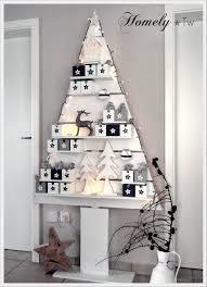 Selbstgebauter Holz Weihnachtsbaum War Der Adventskalender