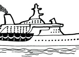 Disney Cruise Coloring Pages Ships Coloring Pages Ship