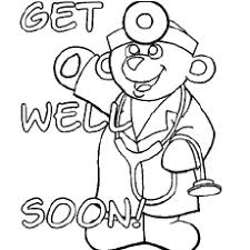 Free printable 'get well' card templates including designs with hearts, a big yellow smiley face, flowers and a boat out at sea. Top 25 Free Printable Get Well Soon Coloring Pages Online