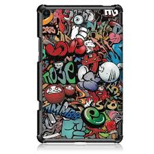 Flip Stand <b>Case For</b> Xiaomi MiPad 4 Plus 10.1 <b>Tri Fold PU</b> Leather ...