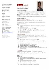 Engineer Resume Template Network Sample Cv Engineering Pqm ~ Sevte