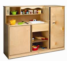 Childrens Wooden Kitchen Furniture Preschool Kitchen Combo Whitney Bros
