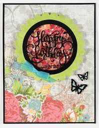 the fantastic frames and phrases dazzles happy birthday wishes circle frame is the perfect