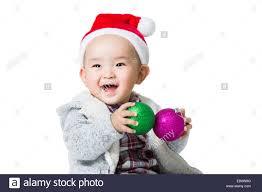 Baby Pics With Christmas Lights Baby Playing With Christmas Lights Stock Photos Baby