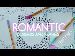 romantic borders and frames designs borders for valentine s cards notebook covers love letters you
