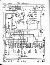 studebaker wiring diagrams the old car manual project 1958 6 cyl