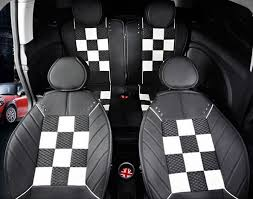 leather car seat covers mini cooper