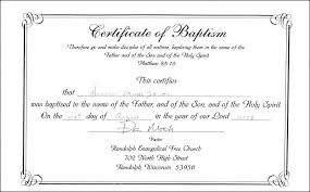 Catholic Baptism Certificate Template Pdf By Christening Best Church
