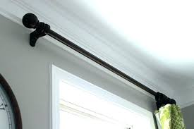 curved curtain track metal bendable curtain pole wood double curtain rod curved curtain pole double curtain