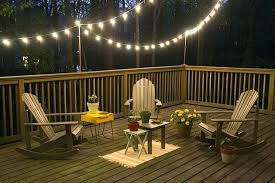outside deck lighting. patio deck string lights outdoor lighting solar diy outside