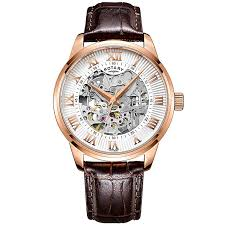 men s watches designer fashion watches h samuel rotary men s silver dial brown leather strap watch product number 4607007
