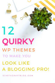 12 Quirky Wordpress Themes To Make You Look Like A Pro